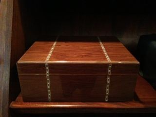 Little Havana Cigar Factory - Savoy Marquis Ironwood Humidor