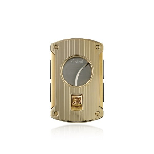 Little Havana Cigar Factory - Colibar 700-Slice Cigar Cutter Gold Stripe