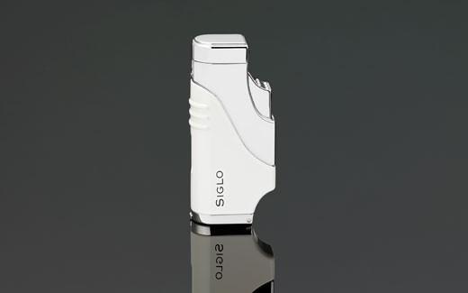 Little Havana Cigar Factory - Siglo Triple Flame Cigar Lighter White