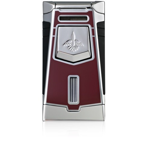 Little Havana Cigar Factory - Colibri Empire 3 Cigar Lighter Burgundy