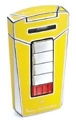 Little Havana Cigar Factory - Lamborghini Aero Cigar Lighter Yellow