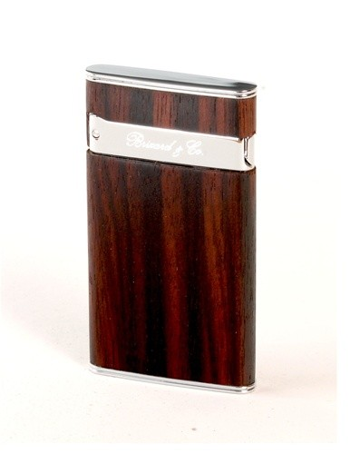 "Little Havana Cigar Factory - Brizard and Co. ""Sottile"" Cigar Lighter Exotic Wood Ebony"