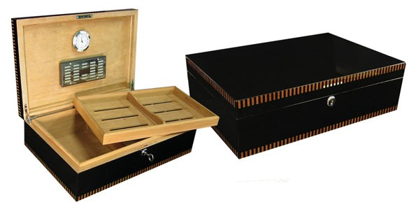 Little Havana Cigar Factory - Prestige Brynmor BlackHumidor