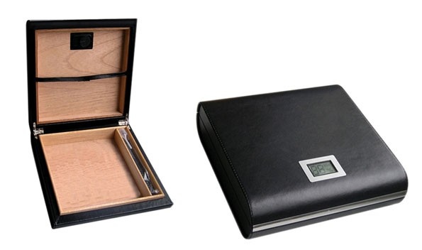 Little Havana Cigar Factory - Prestige Marquis Black Humidor