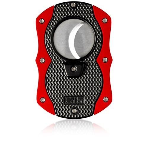 Little Havana Cigar Factory - Colibri Monza Cigar Cutter Red