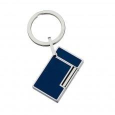 Little Havana Cigar Factory - S.T. Dupont Line 2 Lighter Shape Blue Key Ring