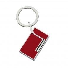 Little Havana Cigar Factory - S.T. Dupont Line 2 Lighter Shape Red Key Ring