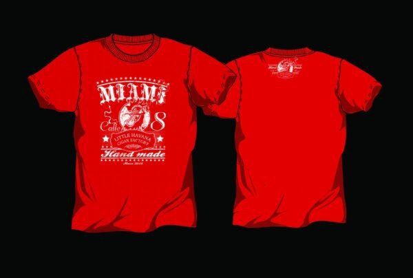 Little Havana Cigar Factory - Red T-Shirt