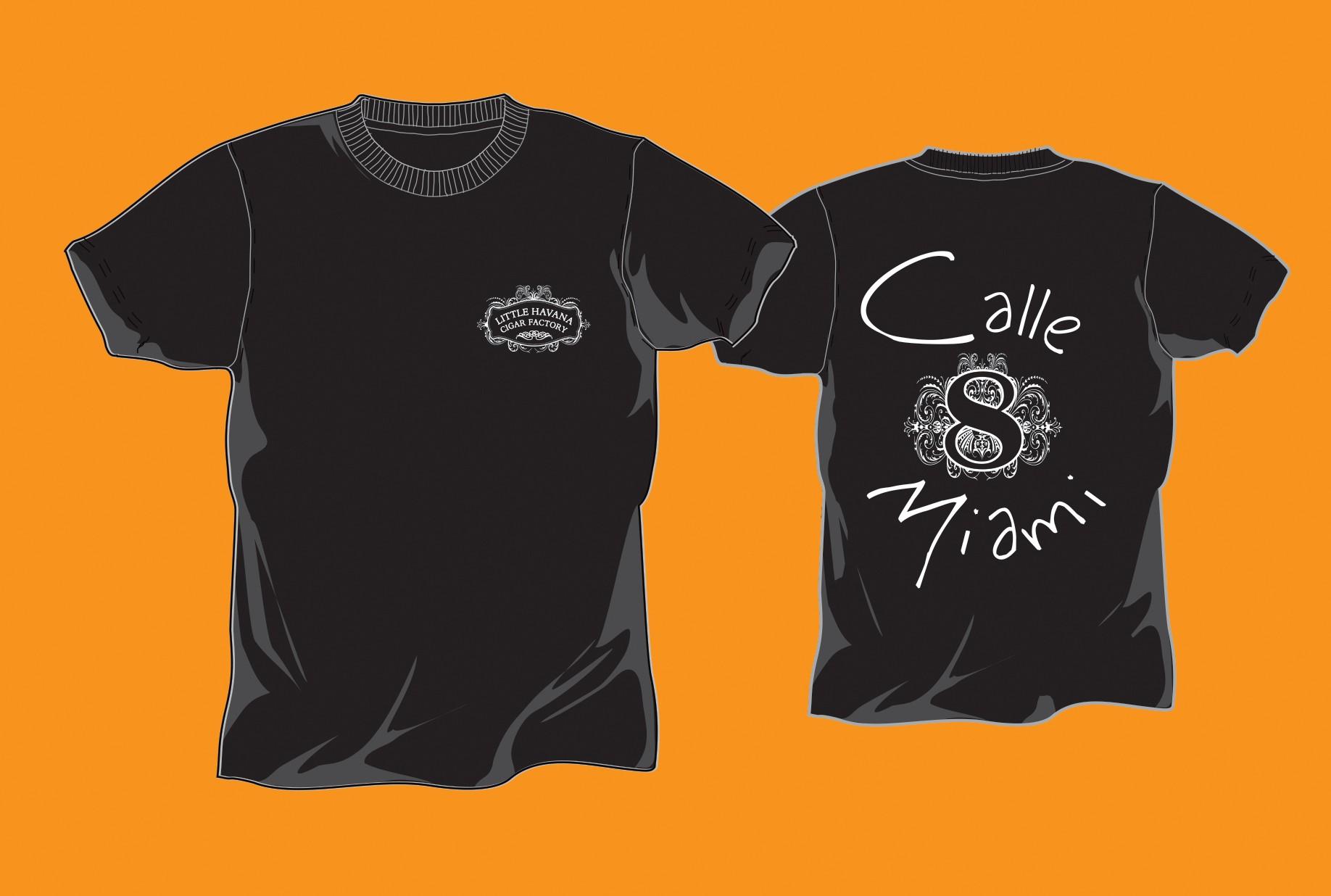 Little Havana Cigar Factory - Black T-Shirt