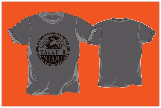 Little Havana Cigar Factory - Gray T-Shirt