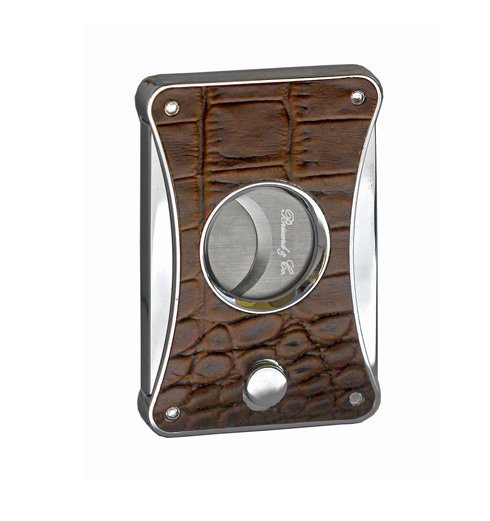 Little Havana Cigar Factory - Brizard and Co. Elite Series 2 Croco Black Cigar Cutter