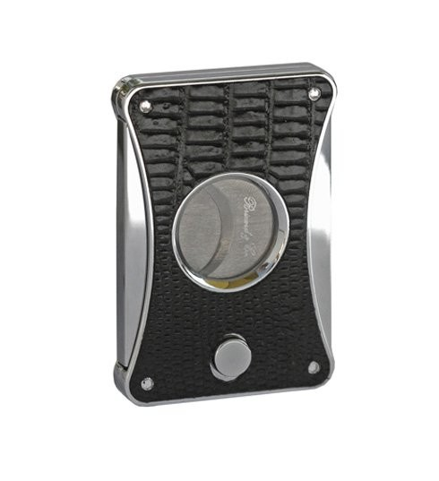 Little Havana Cigar Factory - Brizard and Co. Elite Series 2 Lizard Black Cigar Cutter