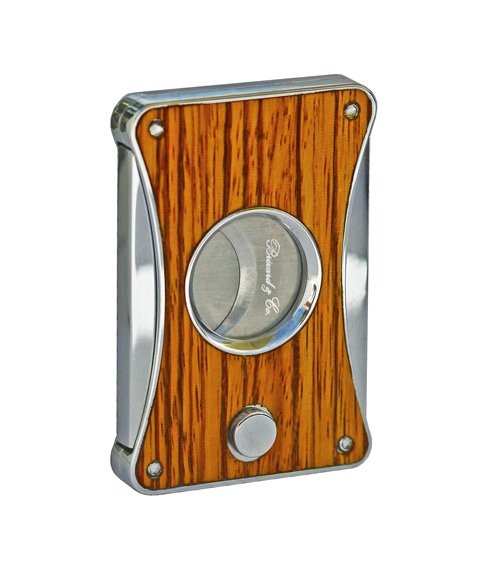 Little Havana Cigar Factory - Brizard and Co. Elite Series 2 Zebrawood Cigar Cutter