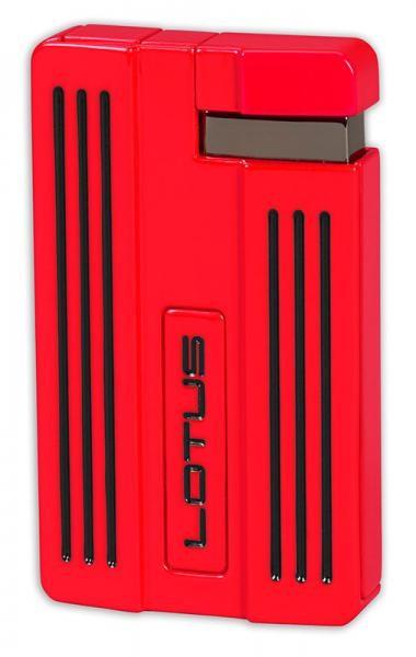 Little Havana Cigar Factory - Lotus Moto Torch Flame Cigar Lighter Red Black
