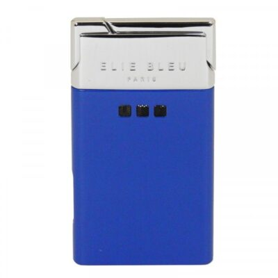 Little Havana Cigar Factory - Elie Bleu J-11 Thin Jet Flame Lighter Blue Lacquer