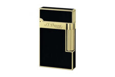 Little Havana Cigar Factory - S.T. Dupont Ligne 2 Lighter Black & Chinese Lacquer Gold