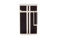 Little Havana Cigar Factory - S.T. Dupont Ligne 2 Lighters - Matte Placed Lacquer Brushed